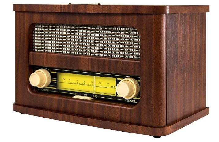 ART+SOUND 680079330026 AR3002 Bluetooth Speaker Vintage Retro Radio