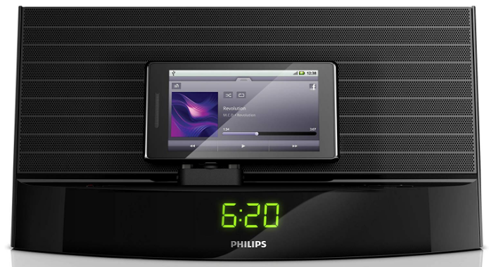 Philips AS140 37 Fidelio Bluetooth Speaker with Micro-USB Dock