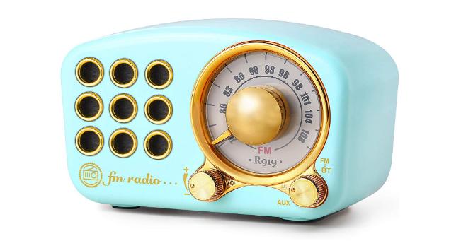Retro Bluetooth Speaker, Vintage Radio