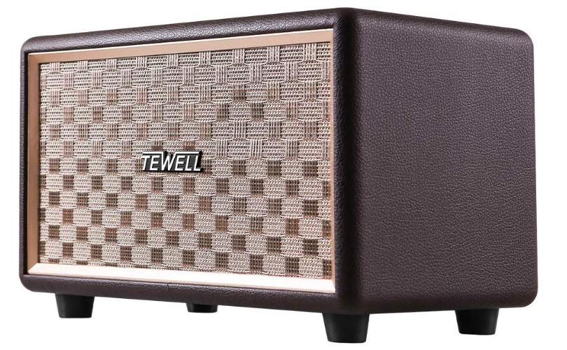 TEWELL Wood Bluetooth Speakers