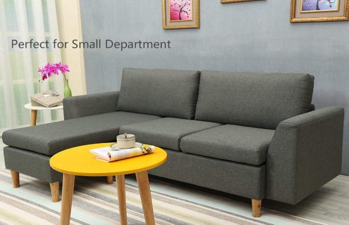 Best-Living Furniture Modern Linen Fabric