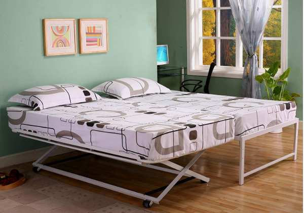 Kings Brand Furniture Twin Size Steel Day Bed