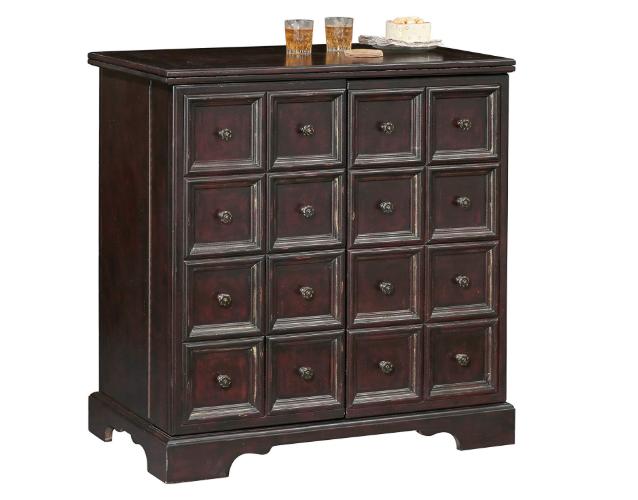 Brunello Wine and Bar Storage Cabinet