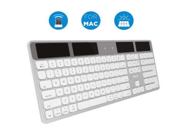 Macally Wireless Solar Keyboard